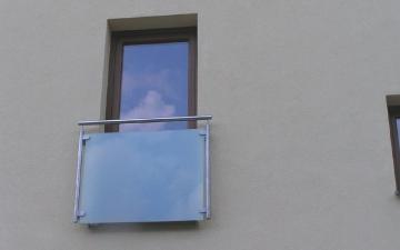 Kulatý 40 sklo fr. okno