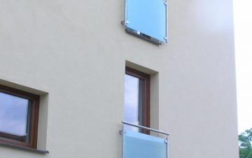 Nerezové balkóny