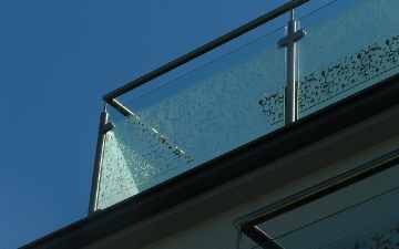 Kulatý sklo vzor